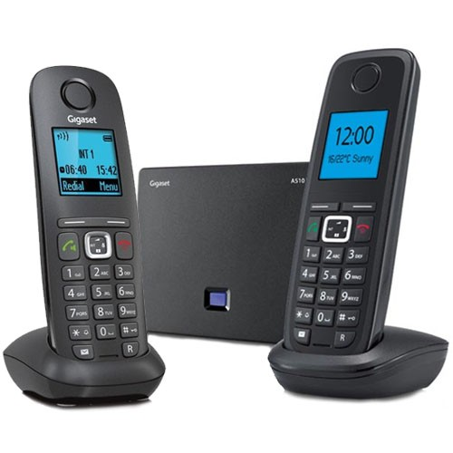 GIGASET AS150 DUAL CORDLESS PHONE - Phone Box