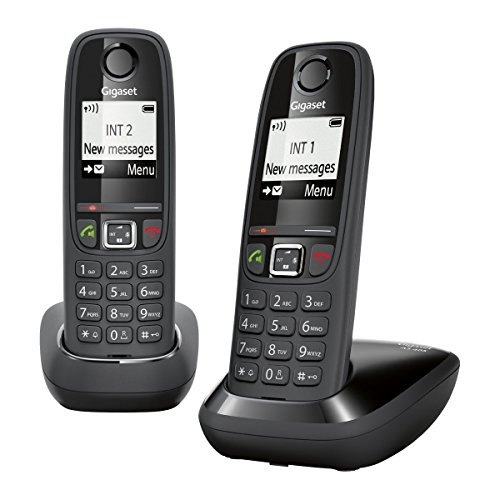 GIGASET AS405 DUAL CORDLESS PHONE - Phone Box