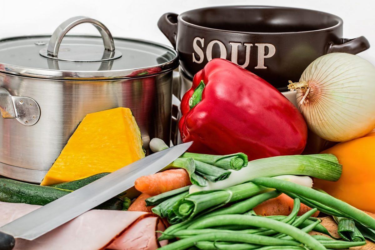 ingredients in kitchen