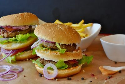 Burgers and calories