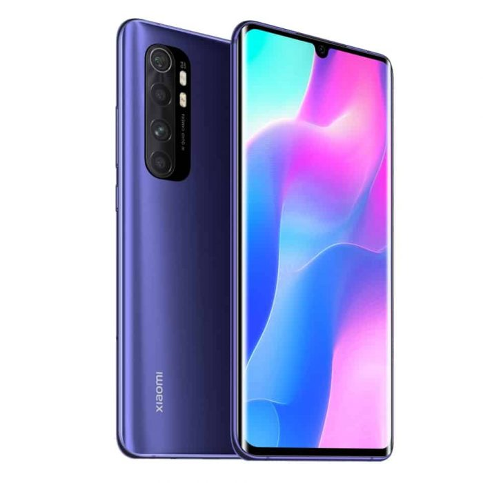 Xiaomi Note 10 Lite Nebula Purple