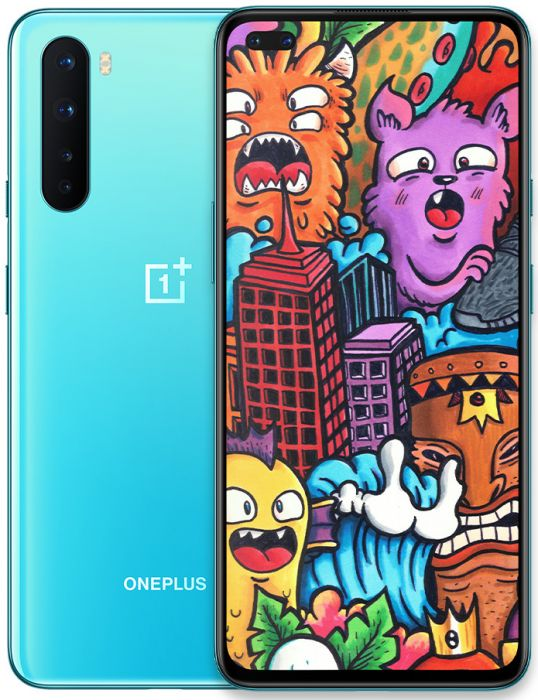 OnePlus Nord 5G Dual Sim Blue Marble