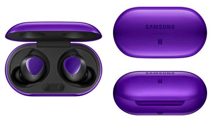 Samsung Buds + Purple